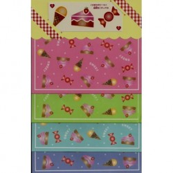 Origami Paper Sweets Print - 150 mm - 24 sheets - Discontinued
