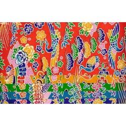 150 mm_   5 sh - Bingata Katazome Print Washi Paper