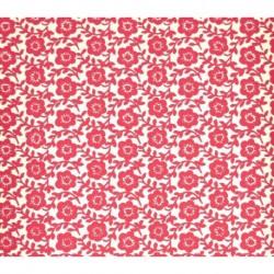 Carta Varese  - Rambling Red Flowers