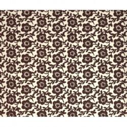 Carta Varese  - Rambling Brown Flowers