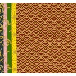 150 mm_   5 sh - Mix Print Washi Paper