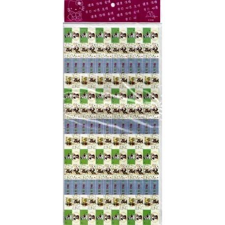 Double Lucky Star Earrings (Lavender/Blue) – paper diamond | 458x458