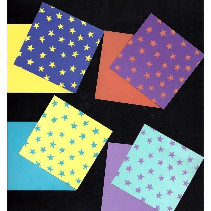 Origami Paper Mini Dot Star Pattern - 075 mm - 100 sheets - photo#42