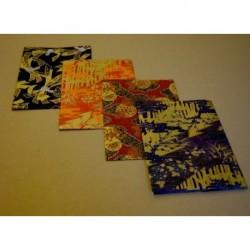 255 mm_   4 sh - Yuzen Print Washi Paper