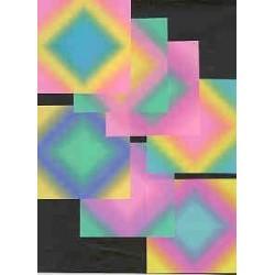 102 mm_  42 sh - Beatto Floral Color Paper - M740707
