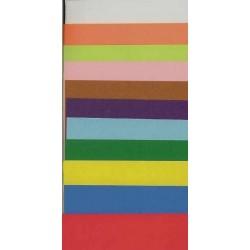 Origami Paper Plain Colors - 075 mm - 200 sheets