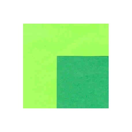 150 mm_  25 sh - Origami Paper - Double Sided Forest Green/Lime Green