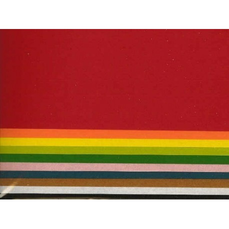 220 mm_  10 sh - Plain Color Washi Paper