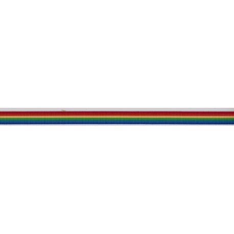 Rainbow Reversible Ribbon