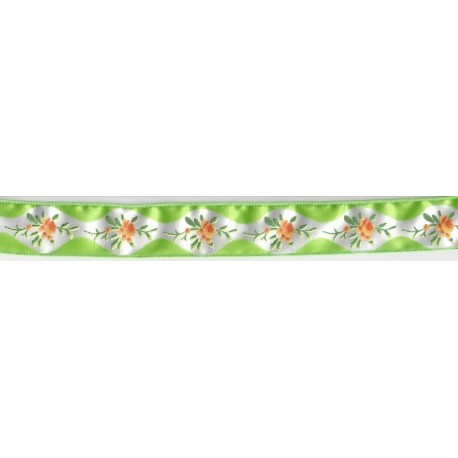 Wired Tea Party Citrus Ribbon
