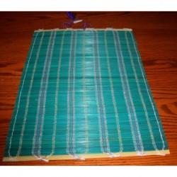 Green Hand Woven Mat Made In Japan