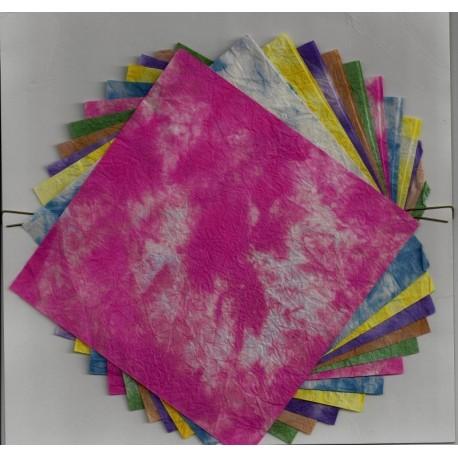 140 mm_  12 sh - Washi Paper - Momizome Print