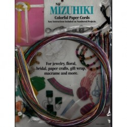 Mizuhiki Mixed Colors - Rainbow Assortment