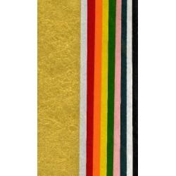 150 mm_  10 sh - Mixed Colors Momigami Washi Paper
