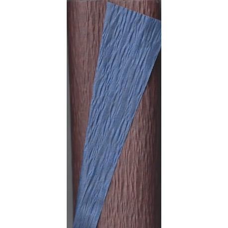 Crepe Paper - Double  Sided Nave Blue and Brown
