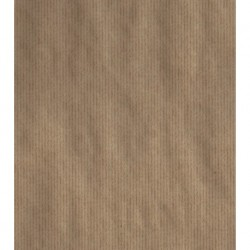 Kraft Wrappping Paper With Stripe Print