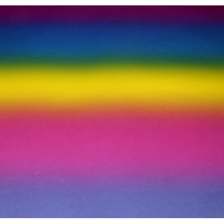 Glassine Rainbow Color F