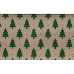 300 mm_   5 sh - Country Kraft Tree Print