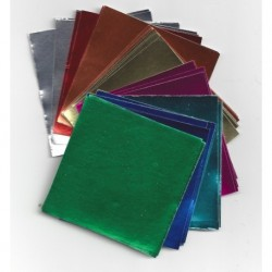 Foil Paper - Eight Colors - 24 sheets
