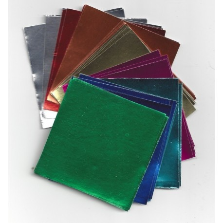 Origami Paper Eight Colors Of Foil - 150 mm - 32 Sheets