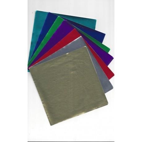 Seven Colors Foil Paper - 28 Sheets