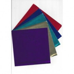 Five Colors of Foil - 20 Sheets