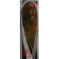Mizuhiki Paper Cords - Silver