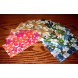 150 mm_  15 sh - Hand Dyed Itajime Paper