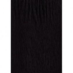 Black Crepe Doll Hair