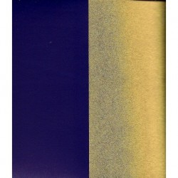 Origami Paper Gold Metallic and Dark Purple Washi - 075 mm - 40 sheets