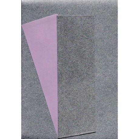 Origami Paper Silver Metallic and Pink Washi - 075 mm -  40 sheets