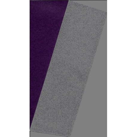 Origami Paper Silver Metallic and Purple Washi  - 075 mm -  40 sheets
