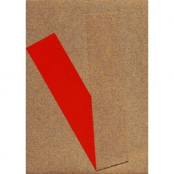 Origami Papert Copper Metallic and Red Washi - 075 mm -  40 sheets