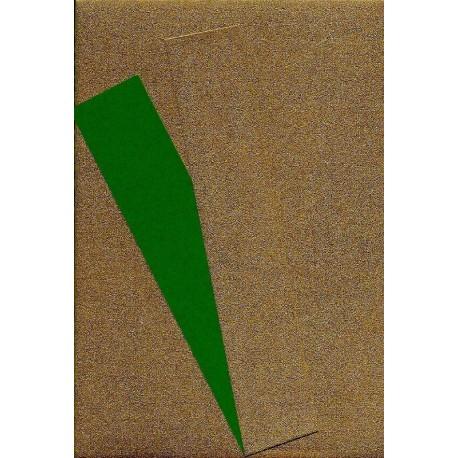 075 mm_   40 sh - Copper Metallic and Green Washi Paper