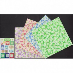150 mm_  24 sh - Petit Marguerite Origami Paper