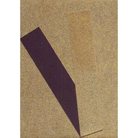075 mm_   40 sh - Copper Metallic and Purple Washi Paper