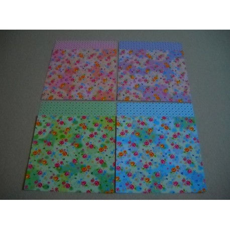 075 mm_ 120 sh - Twin Color Origami Paper