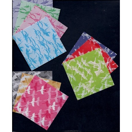 Origami Paper Washi Prints - 100 mm - 200 sheets