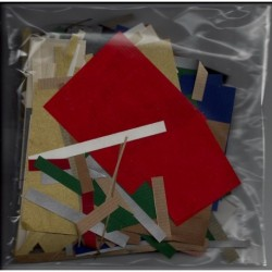 Kraft Paper Mixed Colors - End Cuts
