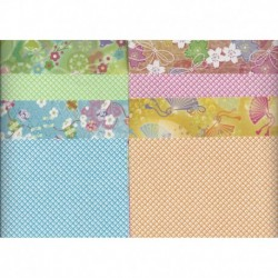 Origami Paper Chiyogami Double Sided Print  -150 mm - 28 sheets