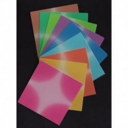 075 mm_ 180 sh - Fantasy Harmony Color Origami Paper