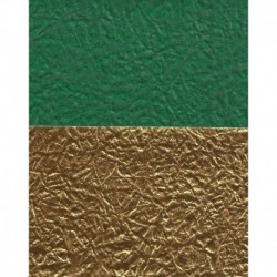 Origami Paper Double-Sided Green and Gold Monigami Washi-075 mm-40 sh