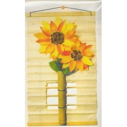 Washi Flower Tapestry/Picture