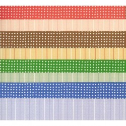Origami Paper Stripes and Dots - 150 mm - 28 sheets