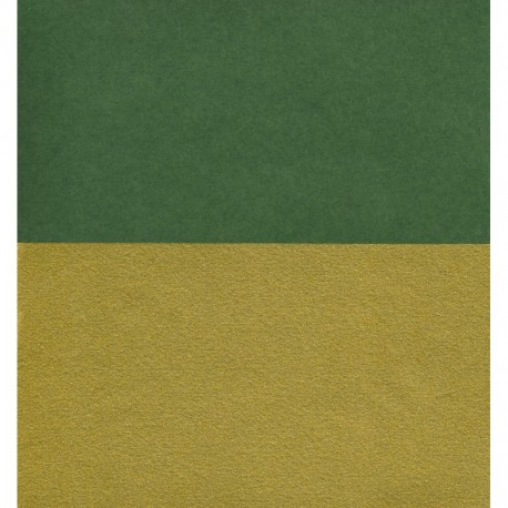 Origami Paper Double-Sided Green and Matte Gold - 150 mm -10 sheets