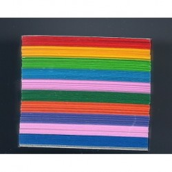 Origami Paper - Micro Mini Assorted Colors - 040 mm - 500 sheets