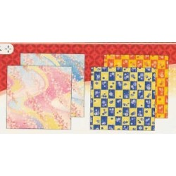 Origami Paper Chiyogami Prints - 150 mm - 24 sheets - Bulk