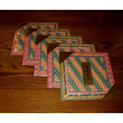 150 mm/  30 sh - Chirimen Origami Paper - Bulk