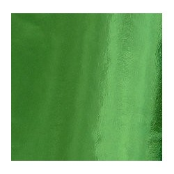 Origami Paper Lite Green Foil - 075 mm -  50 sheets