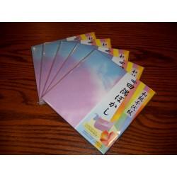 Origami Paper Yosumi Bokashi Print on Washi -150 mm - 24 sheets - Bulk
